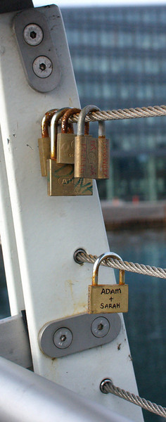 I wonder if Adam and Sarah are still together? And if the padlock helped?