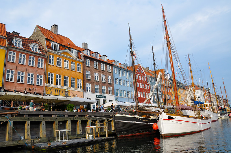 Nyhavn during the day. 2010.