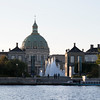 Amalienborg palace from the water