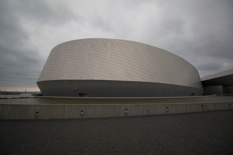 Den Blå Planet, (Danish National Aquarium) building