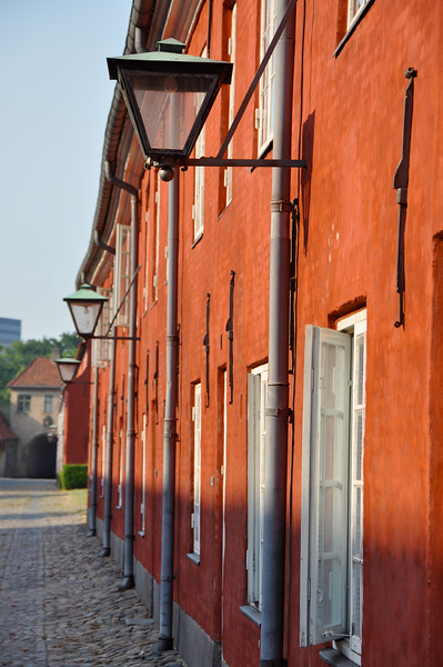 Military Barracks at the Kastellet. 2010.