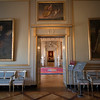 Inside the castle at Christiansborg