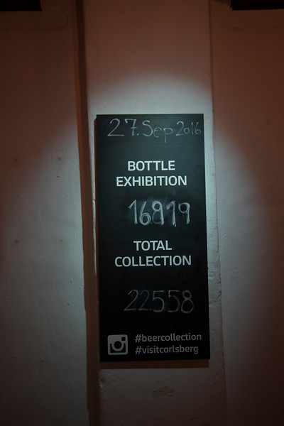 Bottle count at the Carlsberg Brewery