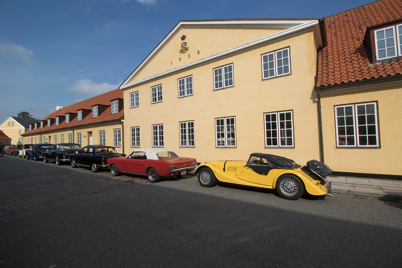 Random car show in Helsingør