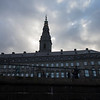 Christiansborg Palace, seen from the canal