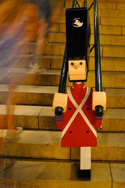 Handrail at Tivoli Gardens. 2010.