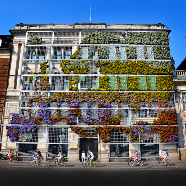 """Living Façade"" at European Environment Agency Headquarters. 2010."