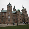 The 17th Rosenborg Castle, seen from the grounds
