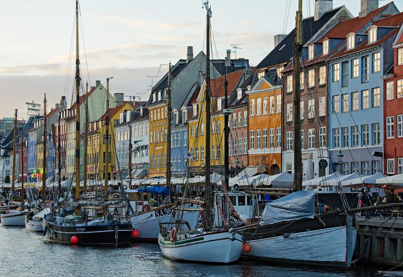 """""""Nyhavn at Dusk"""" - Copenhagen, Denmark"""