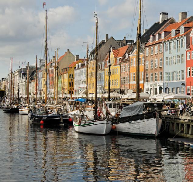 """Nyhavn Reflections"" - Copenhagen, Denmark"