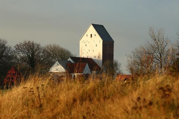 Danish Kirke, Lønstrup, Jutland, Denmark