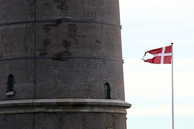 Skagen Fyr, Skagen's Grey Lighthouse, Grenen, Skagen, Denmark
