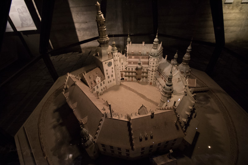 Model of the 1st Christiansborg Castle