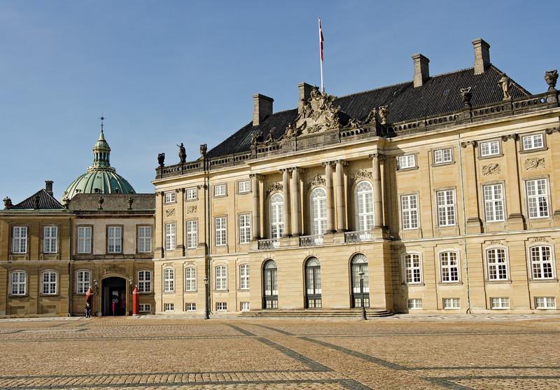 Amalienborg Palace - Copenhagen, Denmark