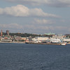 Helsingborg, Sweden, seen from the ferry