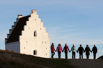 Den Tilsandede Kirke, Old Skagen Buried Church, Skagen, Denmark
