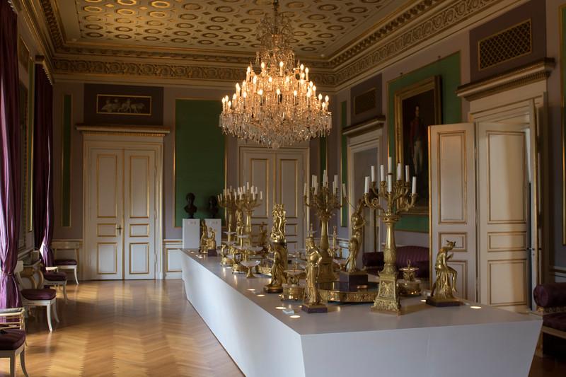 Inside Amalienborg palace