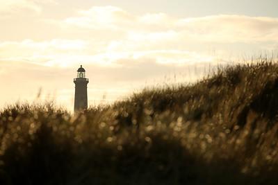Skagen Fyr, Skagen's Grey Lighthouse, Grenan, Skagen, Denmark