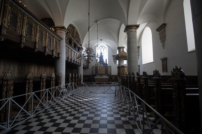 The chapel at Kronborg Castle