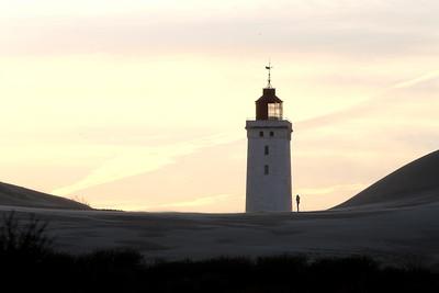 Rubjerg Knude Lighthouse and Sand Dunes, Løkken, Denmark