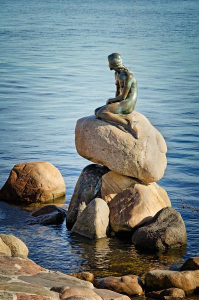The Little Mermaid - Copenhagen, Denmark