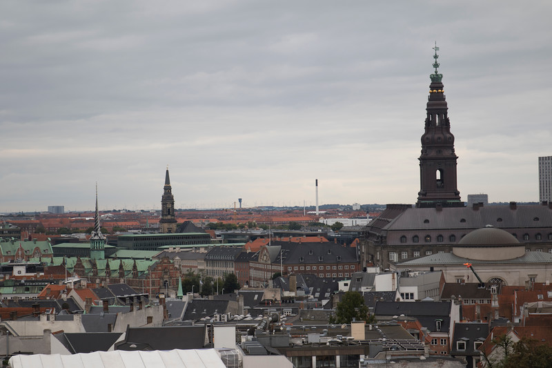 Copenhagen, as seen from the Round Tower