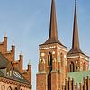 Spires of the Domkirke - Roskilde, Denmark