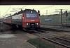 DSB 1502 pulls into Hoje Tastrup on 26 April 1990