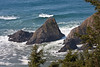 Waves and rocks off Tillamook Head