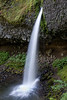 Ponytail Falls, on Horsetail Creek in the Columbia River Gorge