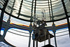 The actual lights of the Yaquina Head lighthouse, inside the Fresnel Lens, Newport, OR.