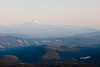 A closer shot of Mt Jefferson. If you look closely at a larger size, you can just see the North Sister on Jefferson's left side.