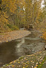 Multnomah Creek downstream from Multnomah Falls.