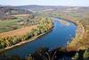 The Susquehanna River near Wyalusing, Pennsylvania