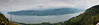 A panorama of the Columbia River from Angel's Rest.