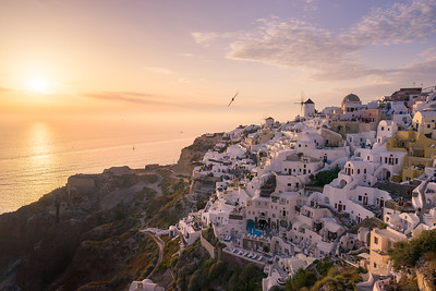 Sunset of Oia - Santorini