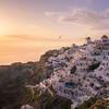 Sunset of Oia - Santorini