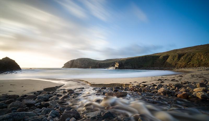Coastal sunset Isle of Lewis