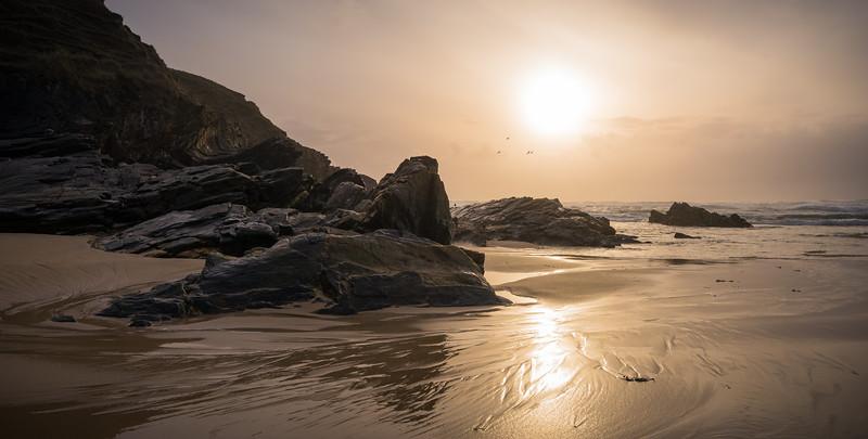 Sunset Isle of Lewis