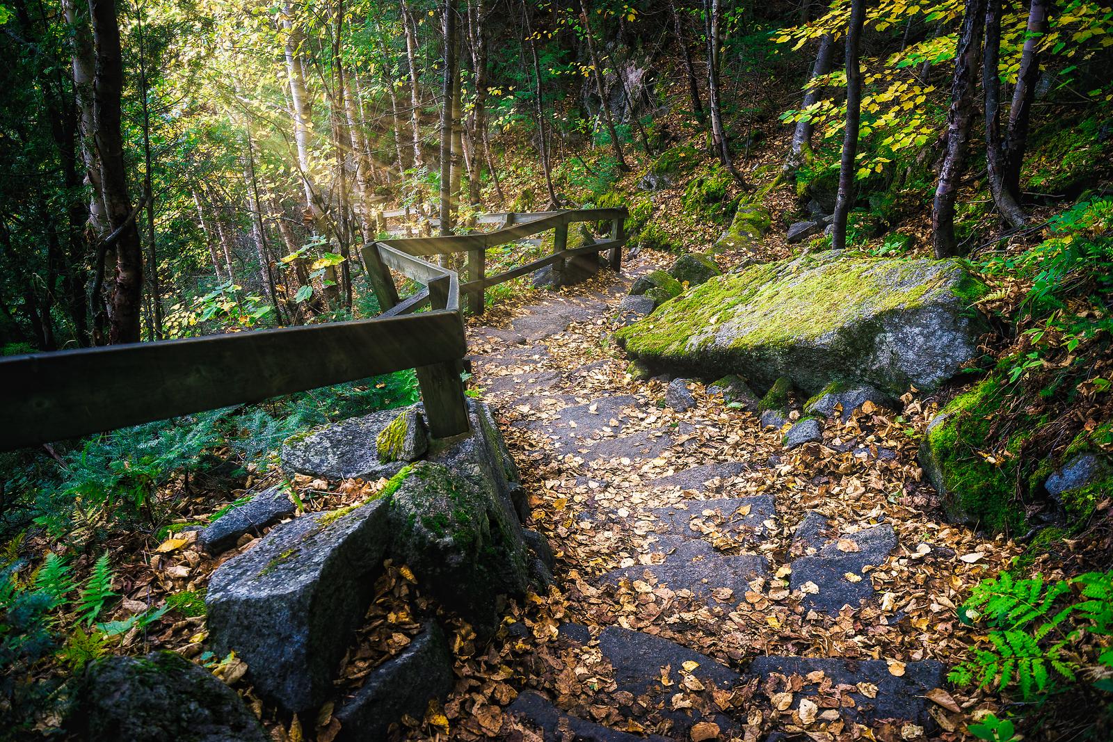 Fjord Hiking in Québec