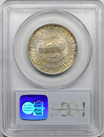 1936 SILVER COMMEMORATIVE YORK PCGS MS65 CAC Reverse