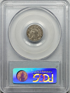 1831 HALF DIME - CAPPED BUST PCGS XF45 CAC Reverse