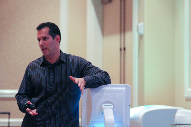 Dentist Chris Pescatore discusses e4D system