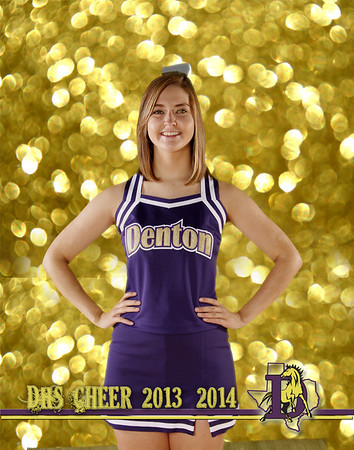 DHS Cheer Gold Background