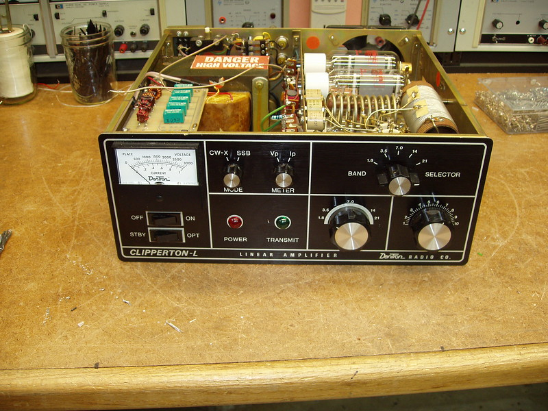 This amp was fairly cheap because the owner had tried to modify the unit and failed.