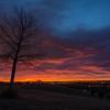 Sunrise in Lakewood, Colorado