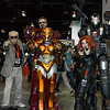 Stan Lee, Iron Man, Rescue, Black Widow, and War Machine