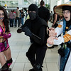 Mileena, Noob Saibot, and Raiden
