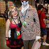 Harley Quinn and Rorschach