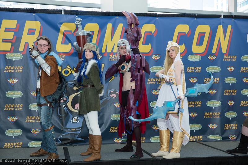 Ezreal, Caitlyn, Varus, and Ashe